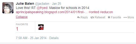 maslow tweet
