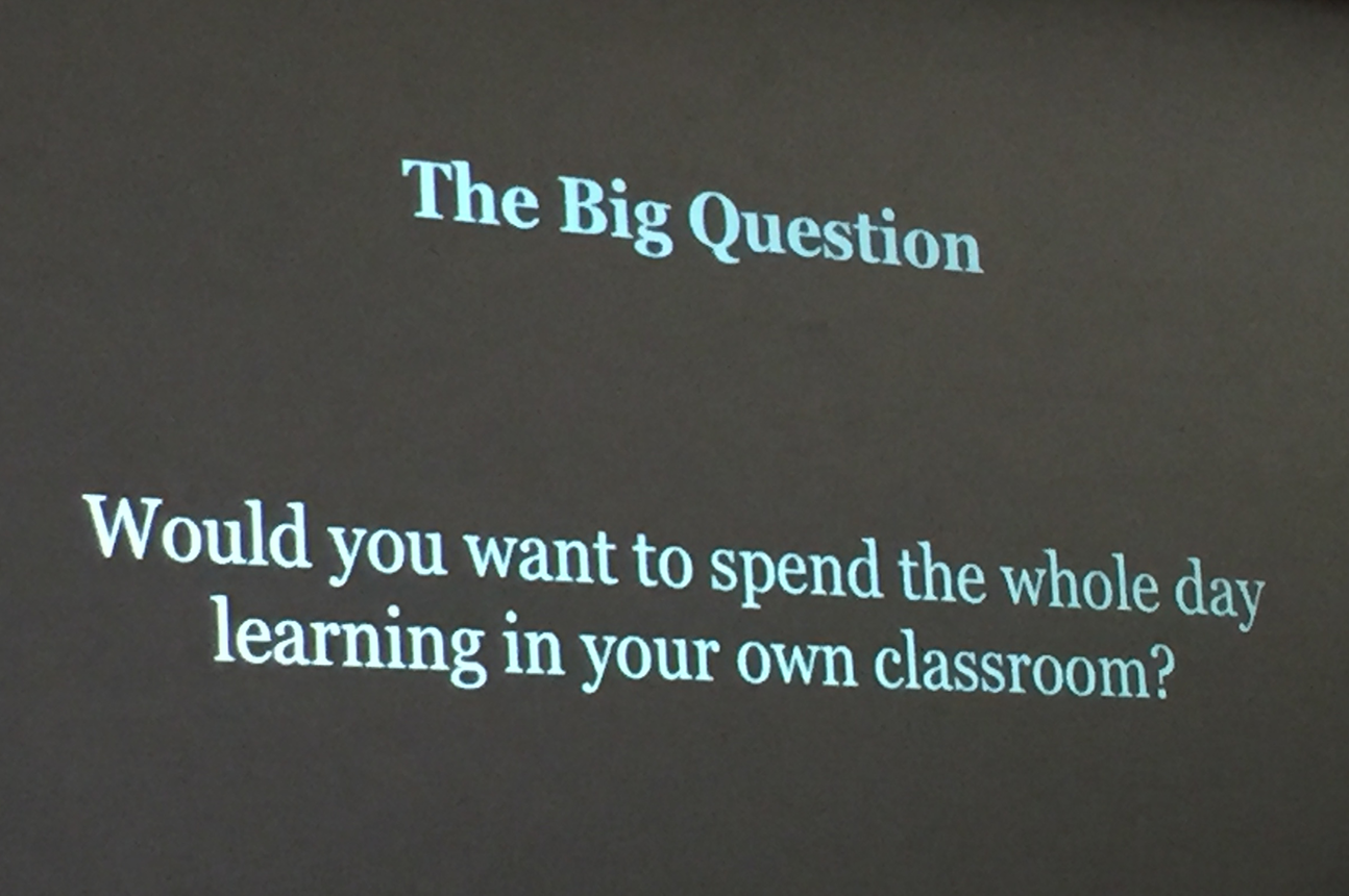 Shared by George Couros 2015