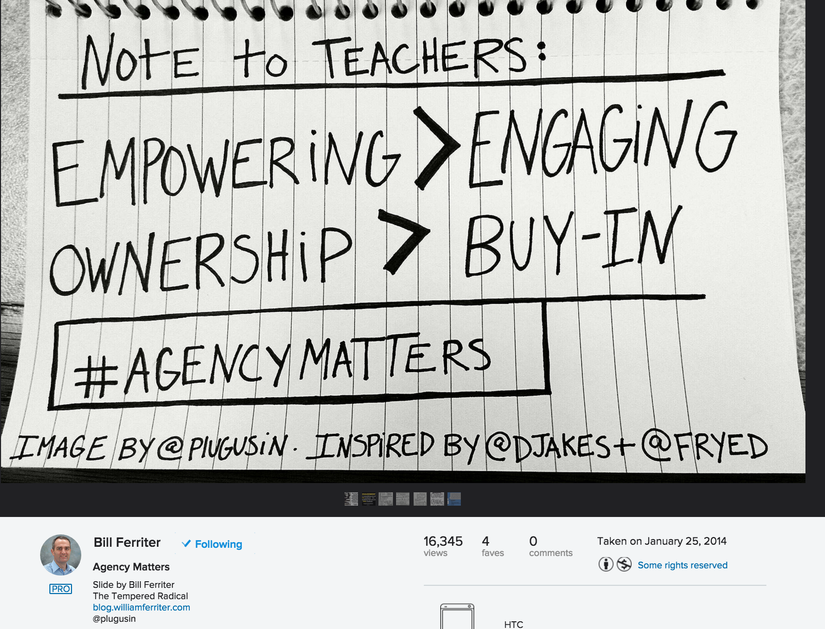 Shared by Bill Ferriter under a CC-BY-NC-2.0 license https://www.flickr.com/photos/plugusin/12188001525/