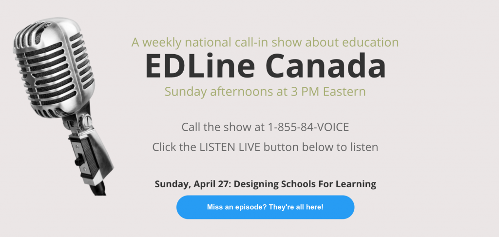 Edline Canada - The National Education Call In Show by VoicEd Radio.